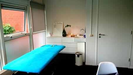 Bekkenfysiotherapie FysioEffect behandeltafel