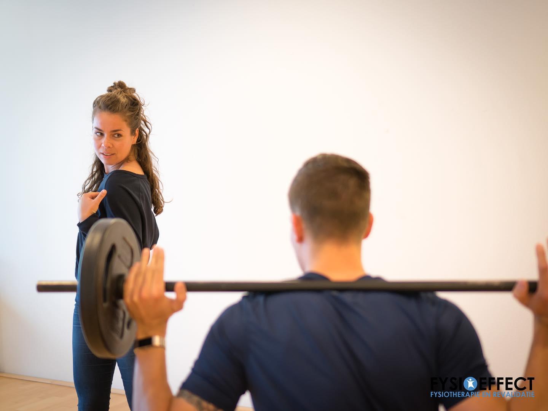 Oefening schouder